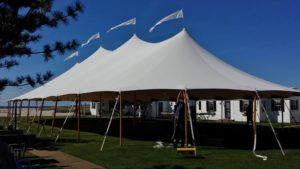 Wedding tent at Kalmar Village, Truro Cape Cod